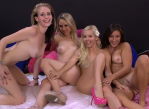Aaliyah Love, Allie James, Charlee Monroe and Rilynn Rae