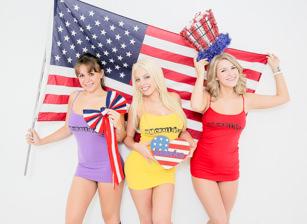 Britney Amber, Chrissy Nova And Dixxie Belle