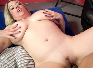 Horny Maggie Green Huge Bouncing Tits