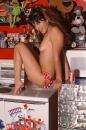 Red With White Polka Dot Bikini Toy Room picture 18