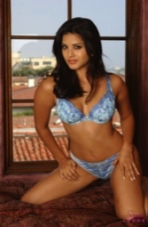 Baby Blue Lingerie Picture