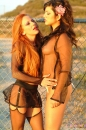 Sunny Gets Some Lesbian Action In The Desert picture 1